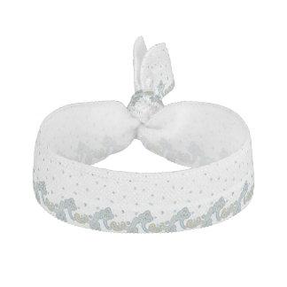 ペイズリーの結婚式のデザインパターン ヘアタイ