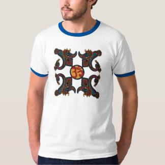 ペイズリー伝統的 Tシャツ