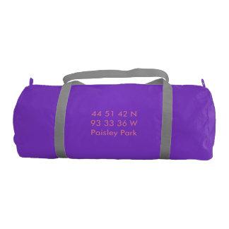 ペイズリー公園は体育館のバッグを調整します ジムバッグ