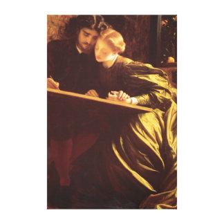 ペインターの新婚旅行のFredric Leightonのファインアート キャンバスプリント