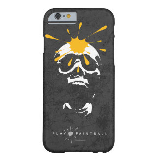 ペイントボールのスカル BARELY THERE iPhone 6 ケース