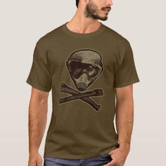 ペイントボールのスカル Tシャツ