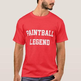 ペイントボールの伝説 Tシャツ