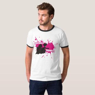 ペイントボールの兵士のピンク Tシャツ