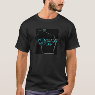 ペイントボールの国家t tシャツ