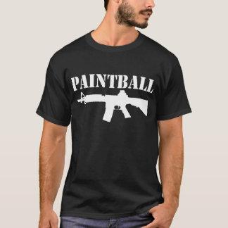 ペイントボール銃 Tシャツ