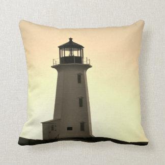 ペギーの入江のノバスコシアの灯台装飾の枕 クッション