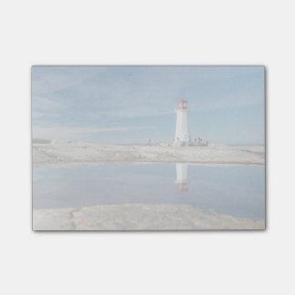 ペギーの入江の灯台|カナダ ポストイット