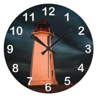 ペギーの入江の神秘的な夜、ノバスコシアは、できます ラージ壁時計