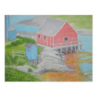 ペギーの入江の離れ家 ポストカード