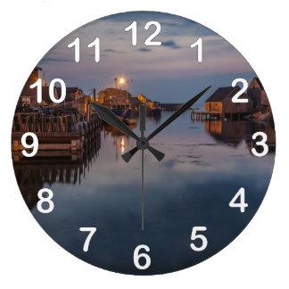 ペギーの入江港 ラージ壁時計