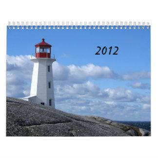 ペギーの入江、ノバスコシア カレンダー