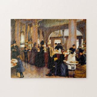 ペストリーの専門店のヴィンテージの芸術1889のパズル ジグソーパズル