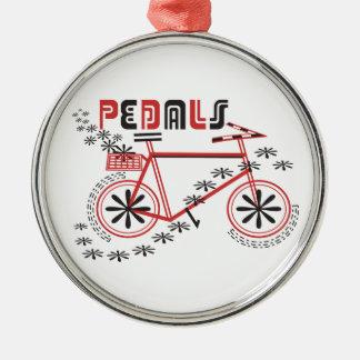 ペダルの循環 メタルオーナメント