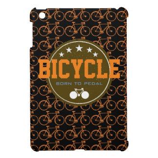 ペダルを踏むためにバイクテーマ生まれて下さい iPad MINIカバー