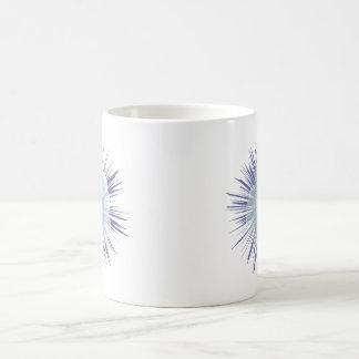 ペチュニアのスターバスト コーヒーマグカップ