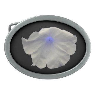 ペチュニアの青い白熱ベルトの留め金 卵形バックル