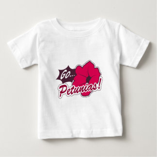 ペチュニアは行きます! ベビーTシャツ