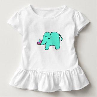 ペチュニア象-ドーナツTシャツ トドラーTシャツ