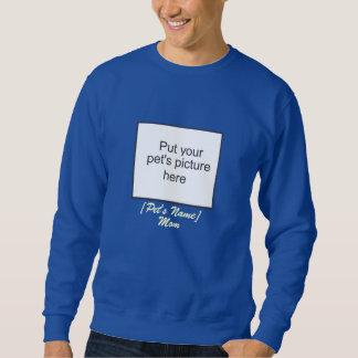 ペットお母さんの暗闇のスエットシャツ スウェットシャツ