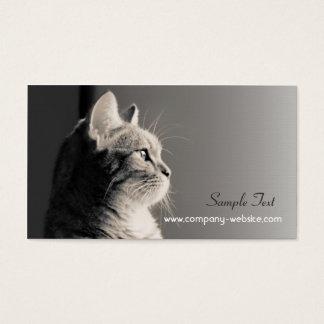ペットの世話および採用の名刺 名刺