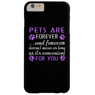 ペットは永遠です BARELY THERE iPhone 6 PLUS ケース