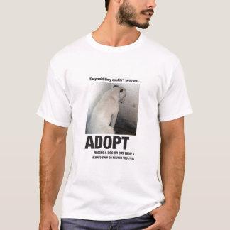 ペットを採用して下さい Tシャツ