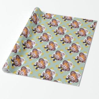 ペットカウボーイWRAPPINのペーパー光沢のある 包装紙