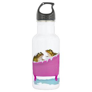 ペットカエルのための泡風呂 ウォーターボトル