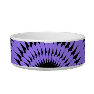ペットシックなBOWL_MOD 181紫色の花びら ボウル