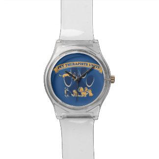 ペットセラピーのイメージの腕時計 腕時計