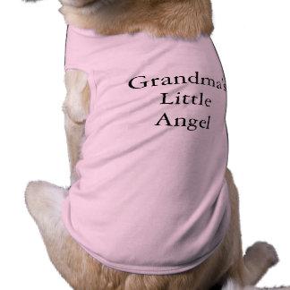 ペットティー:  祖母の少し天使 ペット服