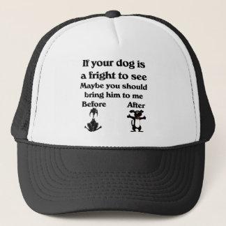 ペットトリマーの帽子 キャップ