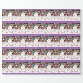 ペットラット、マータの誕生日の包装紙 包装紙
