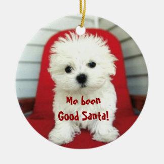 ペット写真または人のクリスマスツリーのオーナメントを加えて下さい セラミックオーナメント