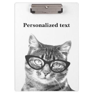 ペット医者のためのおもしろいな猫の写真のクリップボード クリップボード