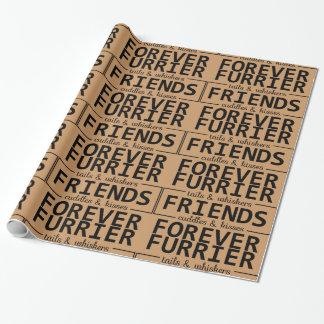 ペット恋人の包装紙 包み紙