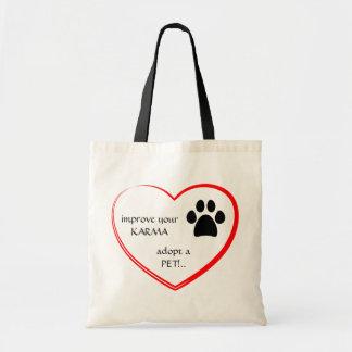 ペット採用のバッグ トートバッグ