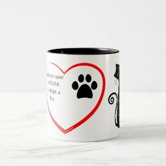ペット採用のマグ ツートーンマグカップ