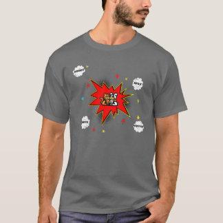 ペット採用の爆発 Tシャツ