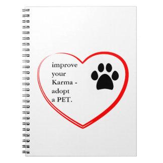 ペット採用 ノートブック
