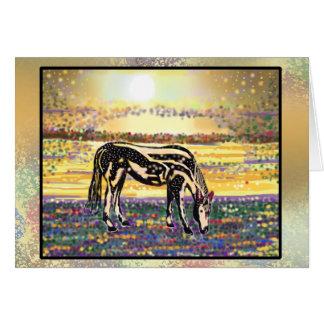 ペット星の~Pony~のメッセージカード カード