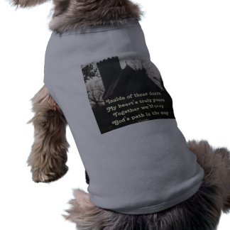 ペット衣類の詩のオードはLadeeのバセット犬によって祈ります ペット服
