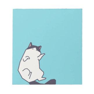 ペット-猫 ノートパッド