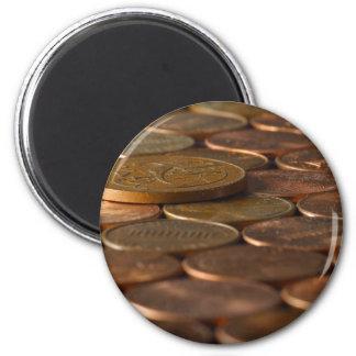 ペニーのペニーの硬貨のお金 マグネット