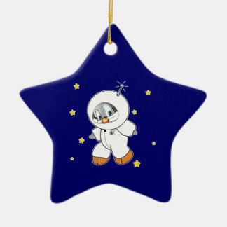 ペニーのペンギンの宇宙飛行士 セラミックオーナメント