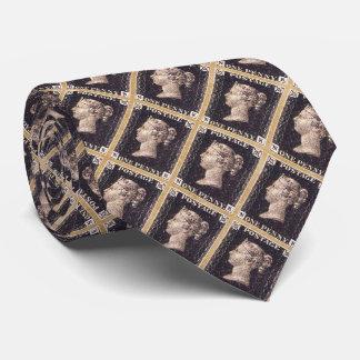 ペニーの黒い切手 カスタムネクタイ