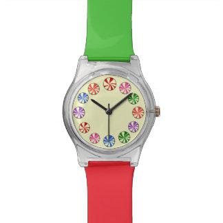 ペパーミントのクランチ 腕時計