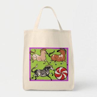 ペパーミントの子馬の食料雑貨のトートバック トートバッグ