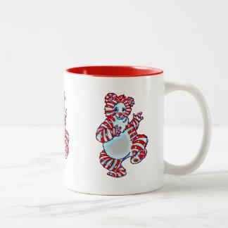 ペパーミントの白くま ツートーンマグカップ